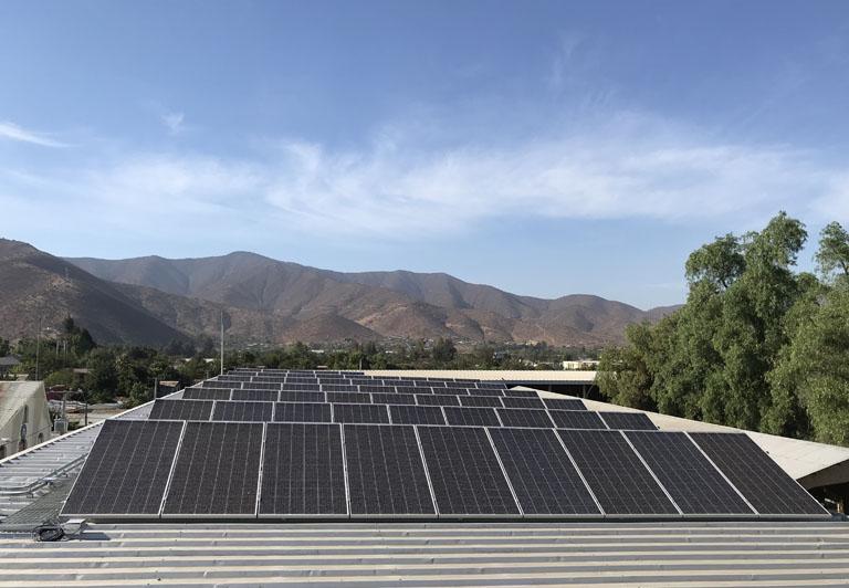 Programa Techos Solares Públicos
